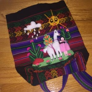Other - Peruvian kids backpack
